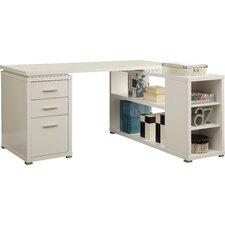 Senga Down 3 Drawer L-Shape Computer Desk