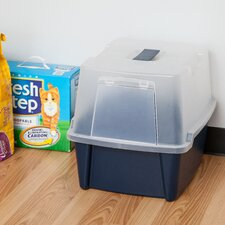 Hooded Litter Box