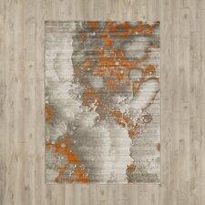 Chartwell Light Gray/Burnt Orange Area Rug