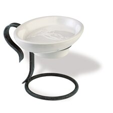 Flora Ceramic Soap Dish