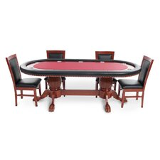 Rockwell 8 Piece Poker Dining Table Set with Dining Chairs