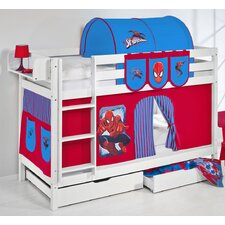 Belle Spiderman Standard Bunk Bed