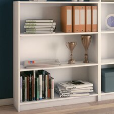 100 cm Bücherregal Bibliotheque Blanco