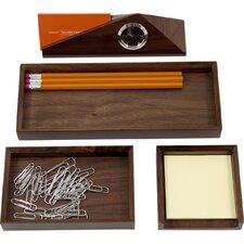 4 Piece Desk Organizer Set