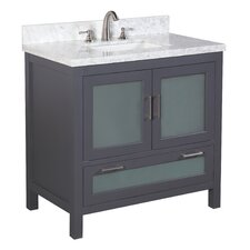 "Manhattan 36"" Single Bathroom Vanity Set"