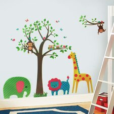 Animal Tree Wall Sticker