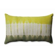 Shibori Bands Cotton Lumbar Pillow