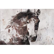 'Gorgeous Horse' by Irena Orlov Painting Print on Wrapped Canvas