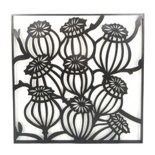 Metal Floral Wall Décor