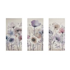 'Classic Poppy' Framed Graphic Art Print Multi-Piece Image on Wrapped Canvas