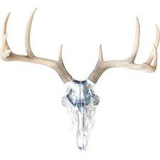 Faux Taxidermy Buck Skull Wall Décor