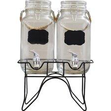 Ardin 3 Piece 1 Gal Beverage Dispenser Set