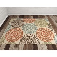 Douane Orange/Brown Area Rug