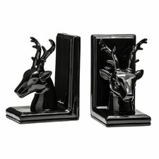 Dolomite Deer Bookends (Set of 2)
