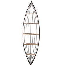 Oval Boat Wall Shelf