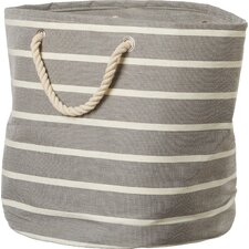 Pin Stripe Round Bag