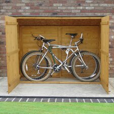 6 x 2 Wooden Bike Shed