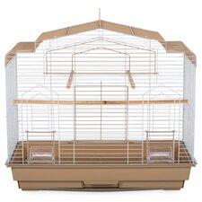 Barn Bird Cage with Food Access Door