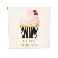 Cupcake Gallery Graphic Art on Wrapped Canvas