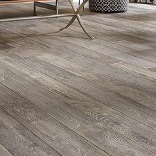 "Antigua 7"" Engineered Oak Hardwood Flooring in Silver"