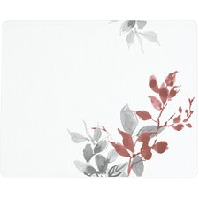 Glass Kyoto Leaves Counter Saver Cutting Board
