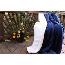 Warm Super Soft Sherpa Winter Night Micro Fleece Throw Blanket