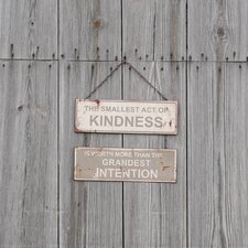 Act of Kindness Metal Sign Wall Décor