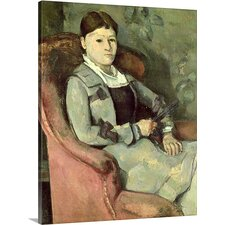 'The Artists Wife in an Armchair' Oil Painting Print on Canvas