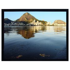 LuxFrame Matte White Fixed Frame Projection Screen