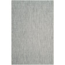 Estella Gray / Navy Indoor/Outdoor Area Rug