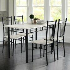 Essgruppe Worden mit 4 Stühlen