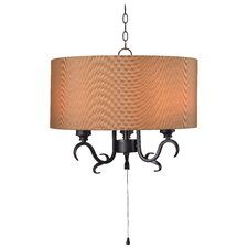 Haston 3-Light Outdoor Pendant