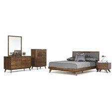 Mcswain Platform 5 Piece Bedroom Set