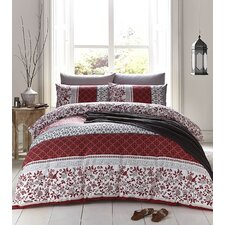 Oriental Bird Cotton Duvet Set
