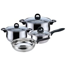 Bohemia 7 Piece Priminute Stainless Steel Cookware Set