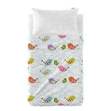 Little Birds 2-Piece Cot Bedding Set