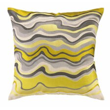 Waterflow Linen Throw Pillow
