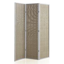 179cm x 130cm Wooden Screen 3 Panel Room Divider