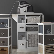 1 Door 4 Drawer Chest of Drawers