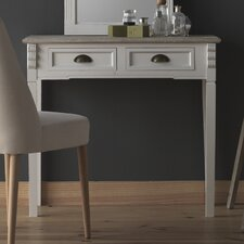 Wooden 2 Drawer Dressing Table