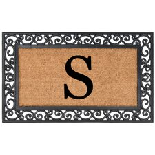 YourOwn Monogrammed Rubber Doormat