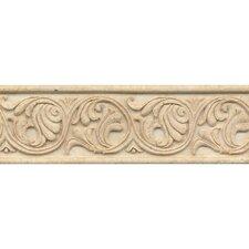 """Marmi Di Napoli Deco Liner 4"""" x 12"""" Resin Tile in Creme Brulee"""