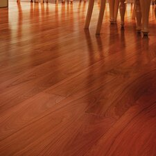 "3"" Solid Brazilian Walnut Hardwood Flooring in Brown"