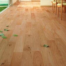 "4"" Solid Amendoim Hardwood Flooring in Natural"