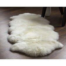 Handmade Ivory Area Rug