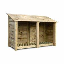 Hambleton 6 Ft. W x 2.5 Ft. D Wooden Log Store