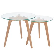 Nordic 2 Piece Nest of Tables