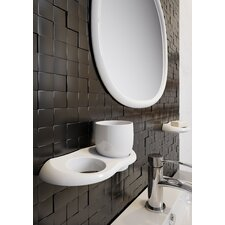 Athena Wall Mounted Toilet Roll Holder