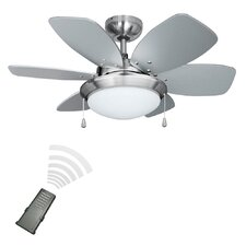 72cm Spitfire 6-Blade Ceiling Fan with Remote