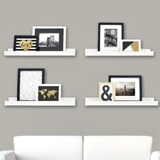 Edge Picture Frame Ledge (Set of 4)